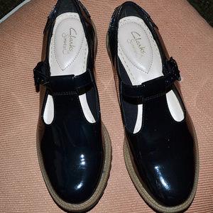 0f8e56c8ce1 Clarks · CLARKS Somerset Black Patent Mary Jane ...